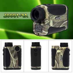 1000m/yards 6x25 Laser Range Finder Scope Binocular For Hunt