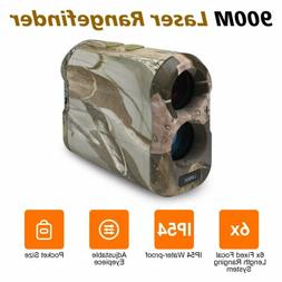 1000Yd Hunting Rangefinder Laser Range Finder Speed Scan Fog