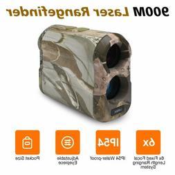 1000Yd Hunting Rangefinder Laser Range Finder Speed Scan Fog