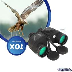 10X50 Binoculars for Hunting Boating with Rangefinder Compas