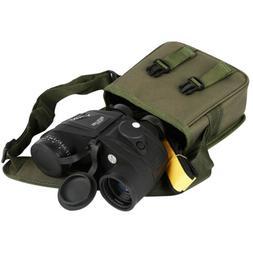 10X50 Binoculars Night Vision Rangefinder Compass Waterproof