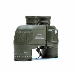 USCAMEL 10x50 HD Military Binoculars Waterproof Zoom Rangefi