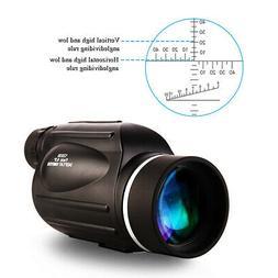 13x50 HD Rangefinder Spotting Scope Monocular With Ranging R