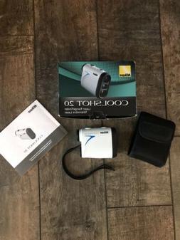 Nikon 16200 COOLSHOT 20 6x20 Golf Laser Rangefinder White