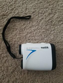 Nikon 16200 COOLSHOT 20 6x20 Golf Laser Rangefinder White wi