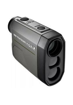 Nikon 16664 PROSTAFF 1000 Laser Rangefinder WITH Case, Lanya