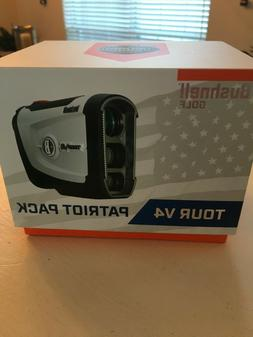 2019 Bushnell Tour V4 Golf Rangefinder with Jolt V-4 - BRAND