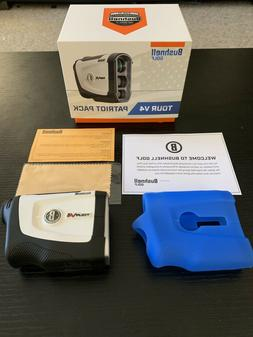 2019 Bushnell Tour V4 Patriot Pack Golf Laser Rangefinder wi
