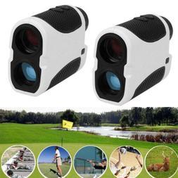 2Packs 400m Golf Range Finder Laser with Slope Angle Scan Fl