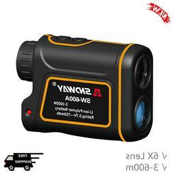 3-600m Golf Laser Range Finder Distance Rangefinder Outdoor