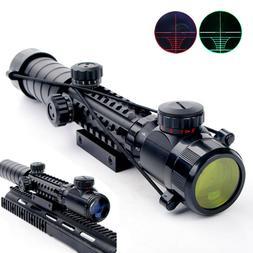3-9*32EG Rifle Airsoft Scope Red/Green Rangefinder Crosshair