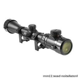 3-9x40 Optic Scope Red Green Rangefinder Illuminated