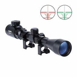 Pinty 3-9X40 Red Green Rangefinder Illuminated Optical Snipe