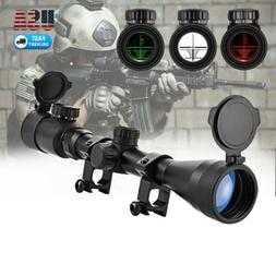 3-9x40 Tactical Rifle Scope Red & Green Crosshair/ Rangefind