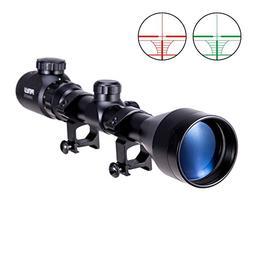 Pinty 3-9x50 Red Green Rangefinder Illuminated Optics Sight