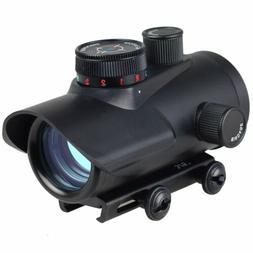 30mm Rifle Pistol Scope Sight Red/Green/Blue Dot BSA 20mm We
