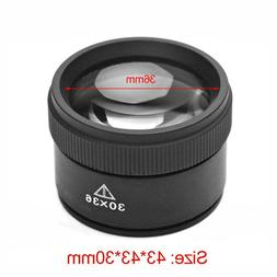 30X Monocular Magnifying Glass Portable Mini Loupe Lens Jewe