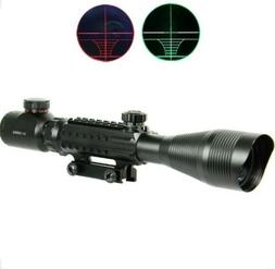 Vokul 4-12X50EG Paintball/Airsoft - Reticle Riflescope Red &