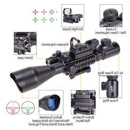 4 12x50eg tactical rangefinder reticle