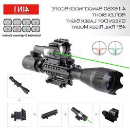 4-16x50 RifleScope Holographic Reflex Dot Sight Scope Green