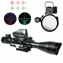 4-12X50 EG Tactical Rifle Scope with Holographic 4 Reticle S