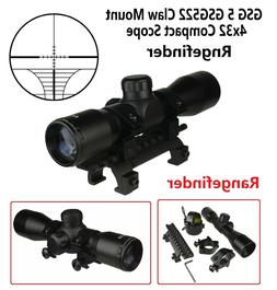 4X32 Compact Tactical Scope Rangefinder  With Ring GSG 5 GSG