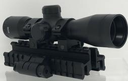 4x32 scope w rangefinder reticle 150 lumen