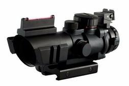 Aim Sports 4X32 Tri III. Scope with Fiber Optic Sight
