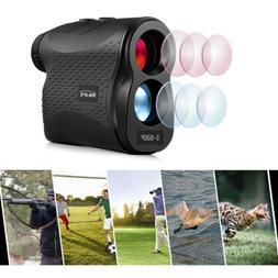 5-600P Laser Rangefinder 600m Distance Meter 6X Monocular Go