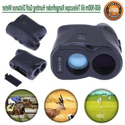 600-900m 6X Rangefinder Hunting Range Finder Telescope Dista