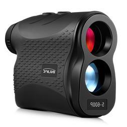 600P Laser Rangefinder 600m Distance Meter 6X Monocular Golf