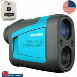 MiLESEEY 650 Yards Golf Laser Rangefinder with Slope Flag Lo