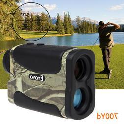EYOYO 6X 25mm Golf Laser Range Finder Speed Fog Scan Distanc