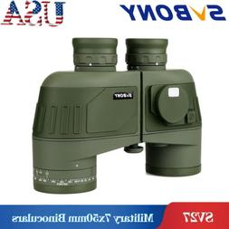 SVBONY 7x50 Military FMC Floating Marine Binocular with Rang