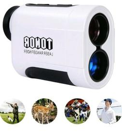 TONOR 900 Meters Laser Golf Rangefinder Color :  White