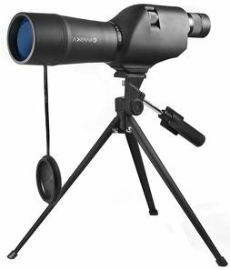 BARSKA 20-60x60 Waterproof Straight Spotting Scope with Trip