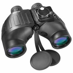 Barska - 7x50mm Battalion Waterproof Binoculars With Compass