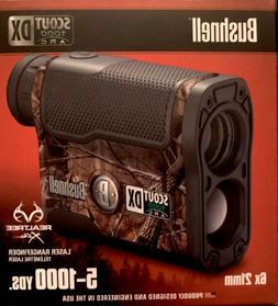 Bushnell Scout DX 1000 ARC 6 x 21mm Laser Rangefinder, Realt