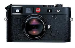 Leica M7 0.72 35mm Rangefinder Camera body black with 0.72 v
