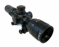 Monstrum Tactical 3-9x32 AO Rifle Scope with Illuminated Ran
