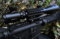 Acid Tactical® Adjustable 4-12x50 Rifle Scope Illuminated R
