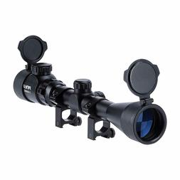 Air Rifle Scope Red Green Rangefinder Sniper 3-9x40 With Len