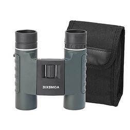 Aomekie Compact Binoculars for Kids Adults 10X25 Waterproof