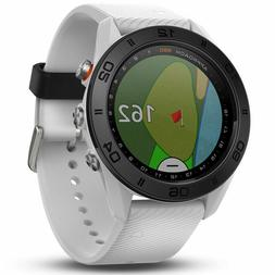 Garmin Approach S60 GPS Golf Watch - White, New