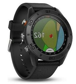 GARMIN APPROACH S60 GPS RANGEFINDER GOLF WATCH -BLACK - 2018