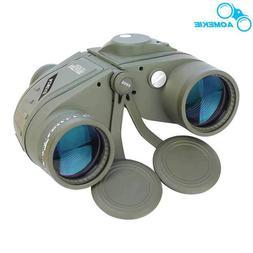 Binoculars 10X50 Marine Military Waterproof With Rangefinder