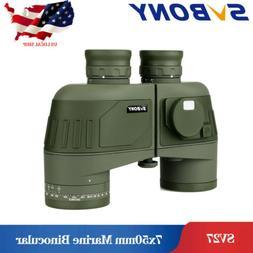 Binoculars 7x50 Military Waterproof Marine Binoculars+Rangef