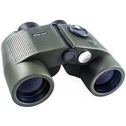 ReHaffe Military Marine Binoculars 7x50 Waterproof with Rang