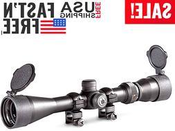 Barska Black Hawk Tactical Rifle Scope 3-9X40mm Magnificatio