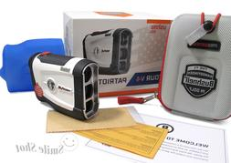 Brand New Bushnell Tour V4 Patriot Pack Golf Rangefinder Jol